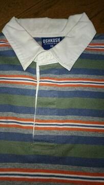OSH KOSH ラガーシャツ 110�a