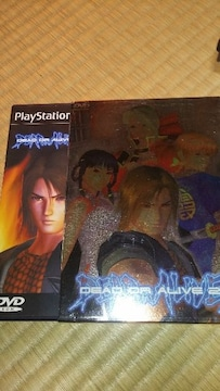 PS2ソフト   DEAD  OR  ALIVE2取説あり