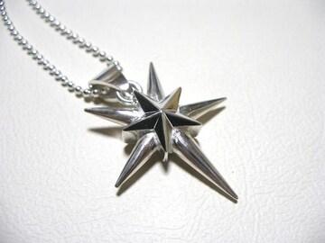 仁尾彫金『星と5本のマッドスパイクヘッド』ハンドメイド83