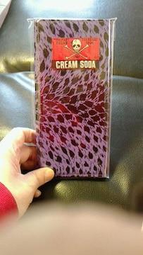クリームソーダ紫豹柄財布�呑カビリーピンクドラゴンキャットストリート1950カンパニー