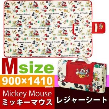 ミッキー ミニーマウス ピクニック レジャーシートM SVS15 Sk927