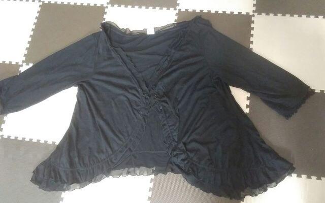 Paix et Doux 黒 4Lサイズ   < 女性ファッションの