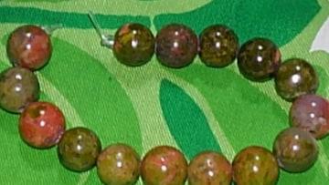 ユナカイト★6mm珠×15個�gA