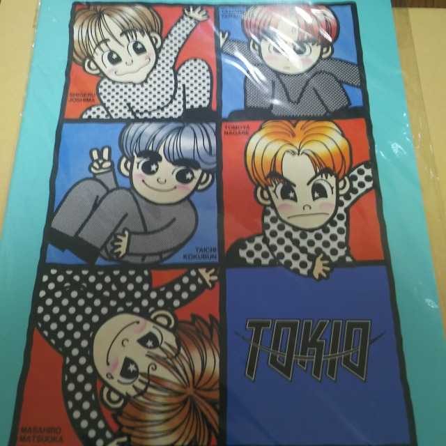 TOKIO ノート  < タレントグッズの
