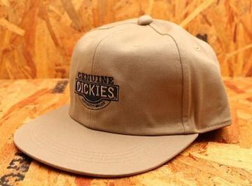 送料無料★箱入り DICKIES キャップ・帽子 ベージュ DK1-2