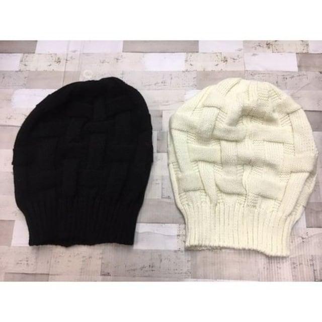人気のベーシックタイプ!メンズニット帽(色お任せ)2個 < 女性ファッションの