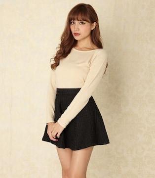 ★リエンダ★バンピーツィードサーキュラーJWスカート ブラック/M 新品タグ付 rienda