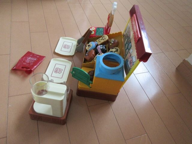 [美品/動作確認済]アンパンマン ジャムおじさんのパン工場 < おもちゃの