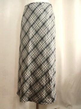 【アイスバリー】Aラインロングスカートです