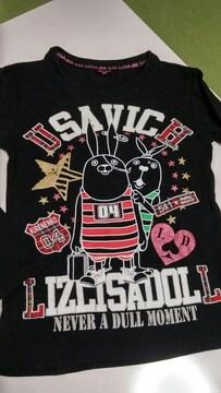 LIZ LISA doll☆ウサビッチとコラボ☆長袖Tシャツ・Fサイズ