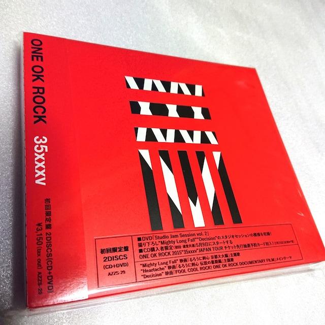 ONE OK ROCK◆CD◆初回限定DVD付◆新品未開封◆35xxxv◆送料無料  < タレントグッズの