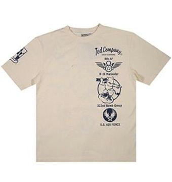 新作/テッドマン/Tシャツ/ホワイト/XXL/TDSS-439/エフ商会/バズリクソンズ