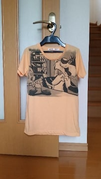 UNIQLO ユニクロ トゥイーティー 半袖 Tシャツ オレンジ M
