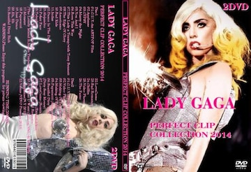 レディーガガ 2DVD最新版 2014・PERFECT PV集 LADY GAGA