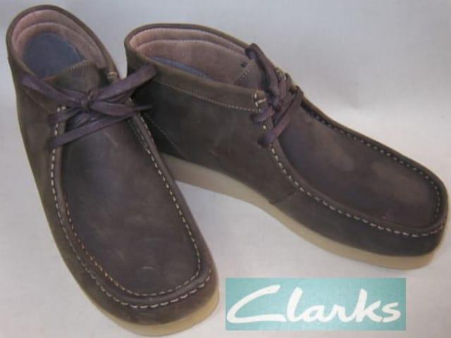 クラークスCLARKS新品PADMORE�Uミッドカット ブーツ63370us10  < ブランドの