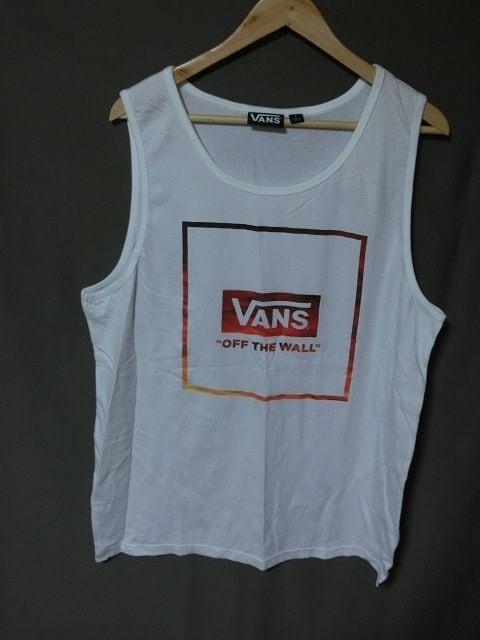 バンズ【VANS】ロゴプリント タンクトップUS Lサイズ  < 男性ファッションの