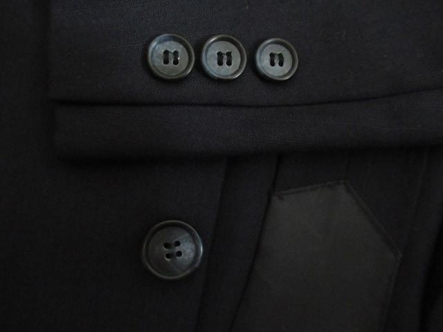 新品&国産★British American by THREE-MAN★毛混/黒系/B4 W92 < 男性ファッションの