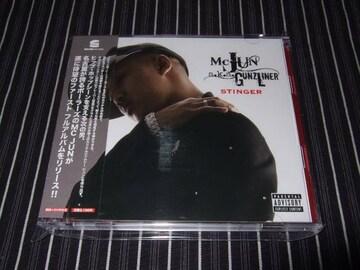 MC JUN『STINGER』DVD付 美品(BALLERS,SIMON,M.O.S.A.D.,來々)