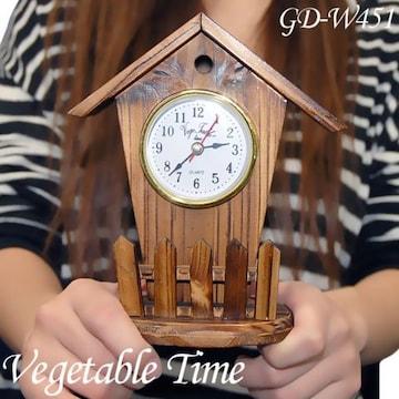 ☆Vegetable/ベジタブル 置き時計 [GD-W451]