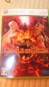 Xbox360ソフト キングダムファイア:サークルオブドゥーム