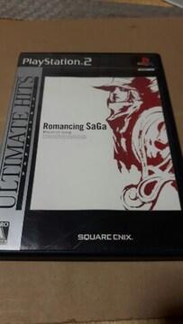 PS2☆ロマンシングサガ ミンストレルソング☆状態良い♪SQUARE ENIX。