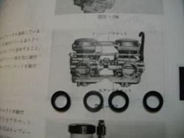 GS400GS425GS400Lバタフライガスケットオーリング106