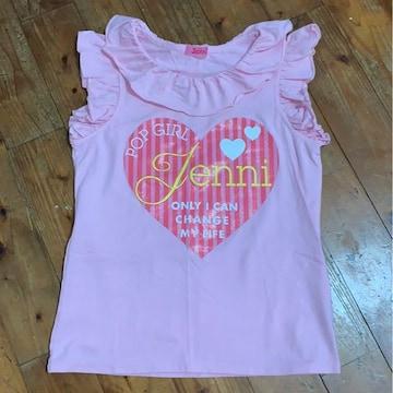 Jenni ピンクシャツ 150 新品同様