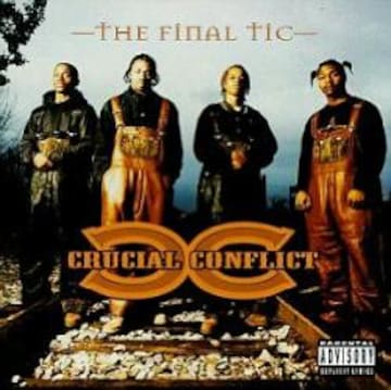 90s crucial conflict the final tic クラシック hip hop g-rap