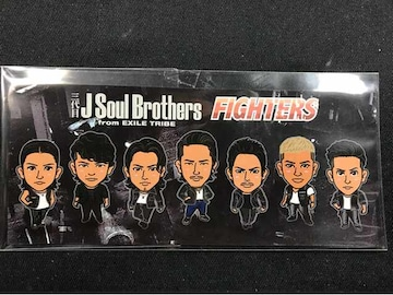 三代目JSB チームステッカー FIGHTERS