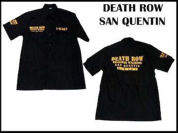 新品 デッスロー サンクェンテン刑務所ワークシャツ ローライダーギャング ギャング49-100