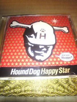 CD:HOUND DOG(ハウンドドッグ)Happy Star