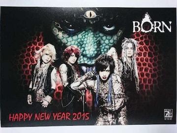 ZEALLINK ORIGINAL HAPPY NEW YEAR CARD2015 BORN
