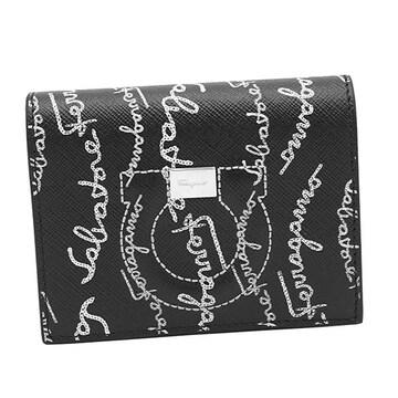 ◆新品本物◆サルヴァトーレフェラガモ 2つ折財布(BK)『22D514』◆
