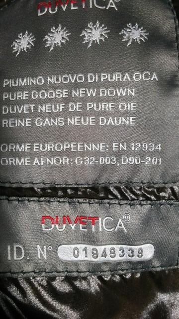 DUVETICA高級ダウンベスト 超美品 < ブランドの