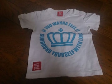 90 BABY DOLL 白のTシャツ