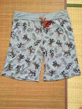 ディズニー・ミッキーマウス柄ルームハーフパンツ