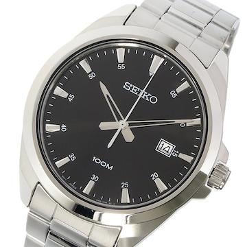 セイコー SEIKO 腕時計 SUR209P1 ブラック ブラック