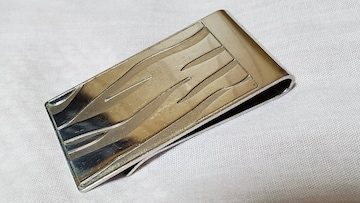 正規 激レア アルフレッドダンヒル  ゴシック トライバルマネークリップ メタルワイドウォレット