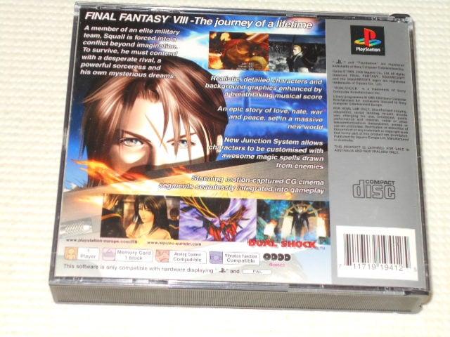 PS★FINAL FANTASY 8 PLATINUM 海外版 < ゲーム本体/ソフトの