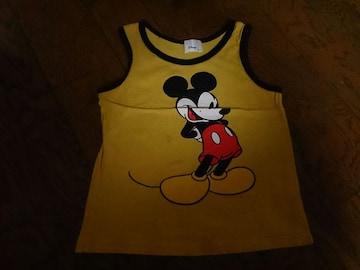 120 Disney ミッキーマウス ノースリーブ