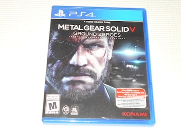 PS4★METAL GEAR SOLID 5 GROUND ZEROES 海外版