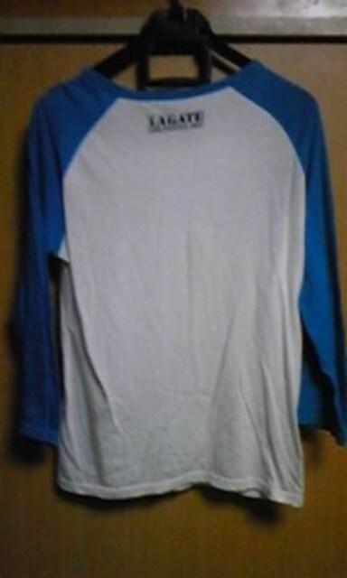 エルエーゲート LAGATE 7分Tシャツ 白 < ブランドの