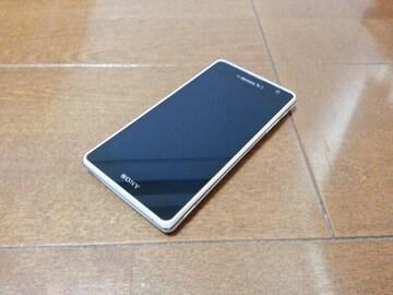 即落/即発!!美中古品 SO-04D Xperia GX ホワイト