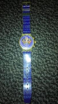腕時計 swatch スウォッチ サラエボオリンピック 電池切れ状態