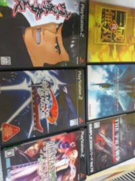 PS2ゲームソフト6本セット喧嘩番長ドラッグオンドラグーン2