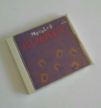 BOOWY CD  MORAL+3  中古  美品
