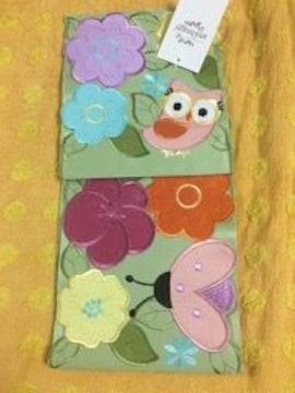 ペーパーホルダー(トイレ用)モチーフ刺繍