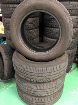 6081225)激安中古国産タイヤ4本ベンツBMWフリ-ドノ-ト等185/65R15送料無料