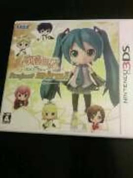3DS[初音ミクand Future Stars Project mirai]ARカード未開封