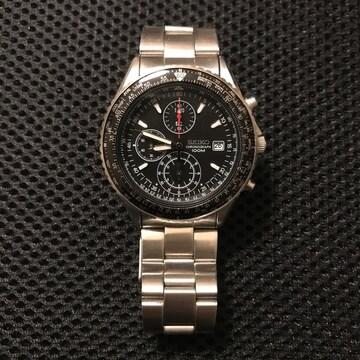 SEIKO セイコー クロノグラフ 腕時計 メンズ 正規品